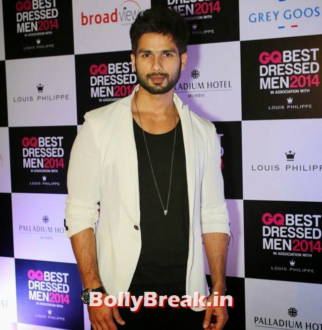 Shahid Kapoor, Evelyn, Kim, Nargis Sizzle at GQ Best Dressed Men 2014 Awards