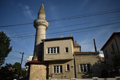 Casa cu minaret din apropierea vilei regale din Mamaia