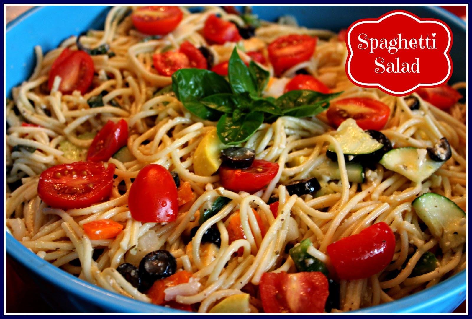 Sweet Tea And Cornbread Spaghetti Salad