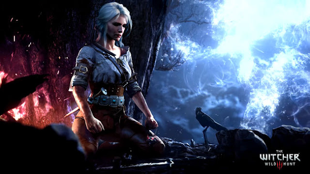 Witcher 3 - Ciri Meditatation Wallpaper Engine