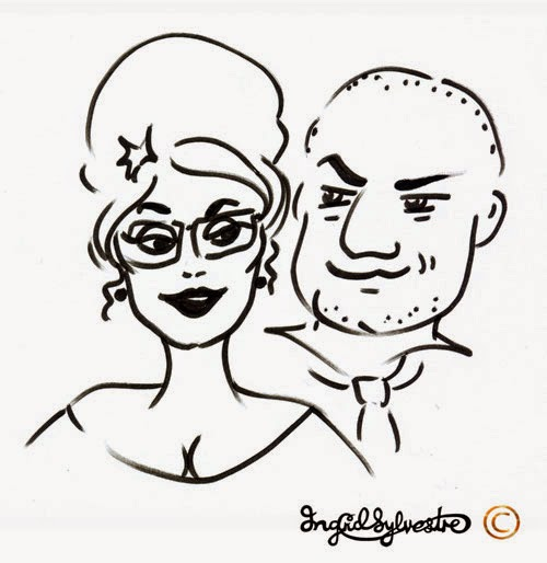 North East Weddings Wedding Caricatures North East Wedding Entertainment ideas Unique Wedding ideas Unusual Wedding Entertainment Luxury Wedding Services Newcastle upon Tyne County Durham Sunderland Tyne and Wear Middlesbrough Teesside Northumberland Yorkshire UK Ingrid Sylvestre Glamicatures TM Wedding caricatures that make you look good