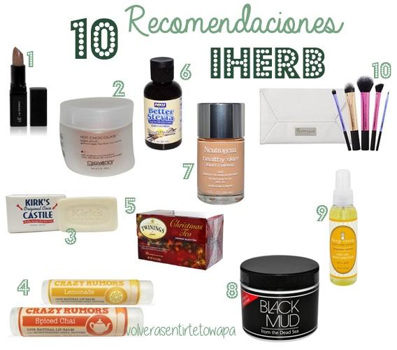 10 Recomendaciones de iHerb: Beauty & Bath