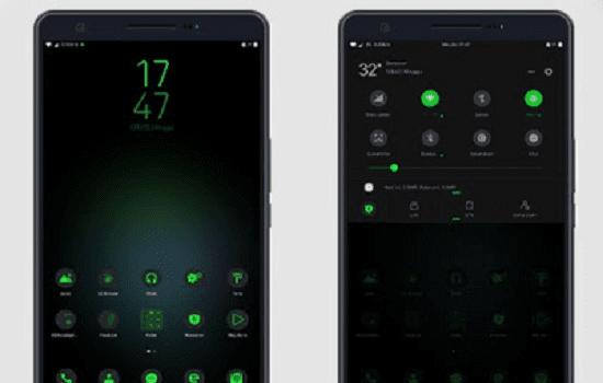 Tema Xiaomi Tembus Black Shark S9+ Style MIUI 9