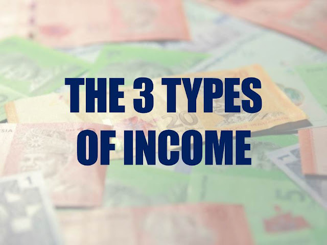 Silibus Yang Tertinggal - Part 3 : The 3 Types of Income