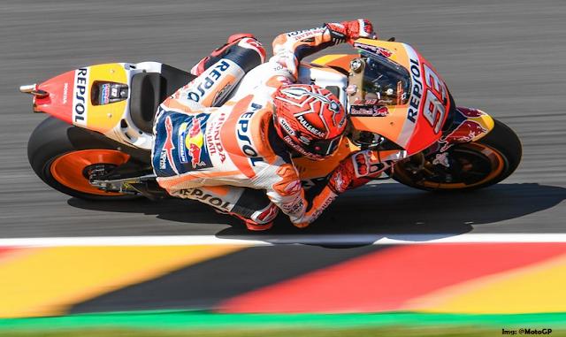 Video HD MotoGP Jerman Sirkuit Sachsenring Minggu 02 Juli 2017