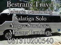 Jadwal Travel Bestrans Jakarta - Solo PP