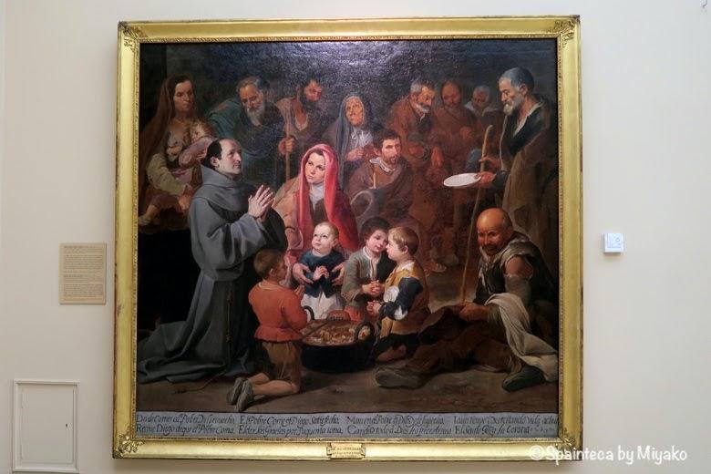 画家バルトロメ·エステバン·ムリーリョの絵画