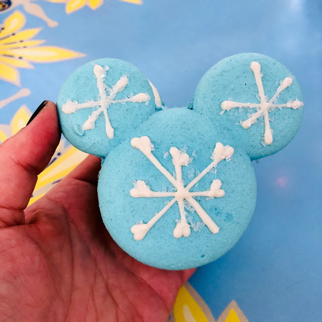 Disneyland Holidays, Christmas, holiday season, Disneyland, top Disneyland holiday ideas, Disneyland Arendelle Aqua Macaron