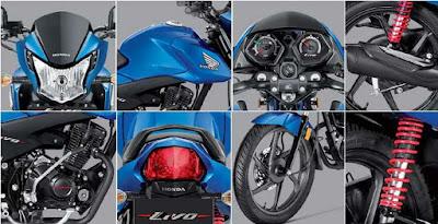 Honda Livo 110cc all Features