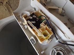 cara menggant tombol wash timer mesin cuci