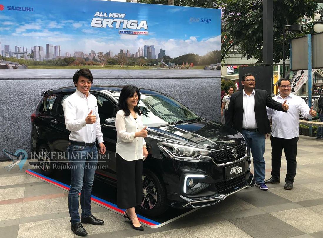 Setelah Jakarta, All New Ertiga Suzuki Sport Hadir di Kota Bandung