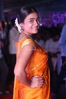 Shalini Pandey in Beautiful Orange Saree Sleeveless Blouse Choli ~  Exclusive Celebrities Galleries 010.JPG