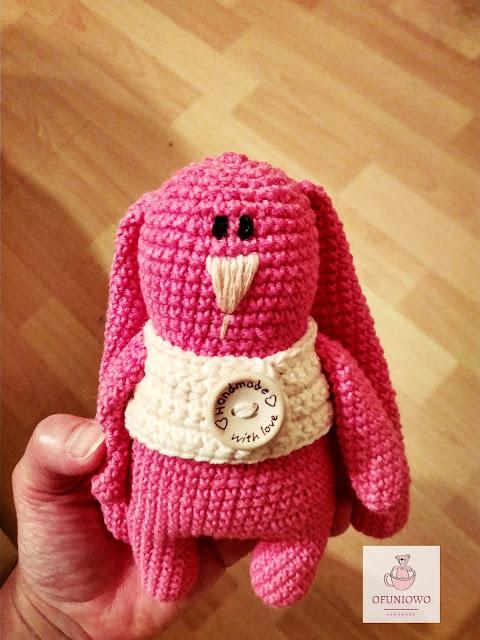 Crochet bunny Ofuniowo Handmade