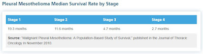 Stage 1 Mesothelioma Survival Rate