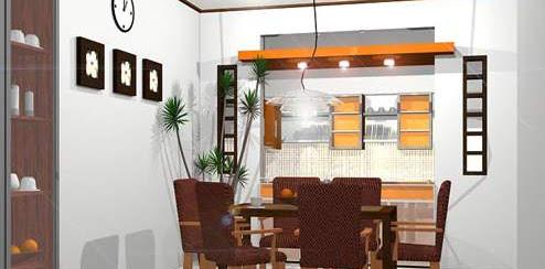Contoh Desain Ruang Makan Terbaru