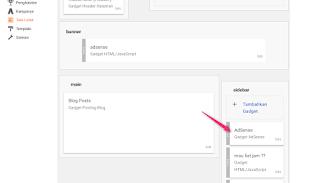 2 cara memasang kode iklan adsense pada blog - blog
