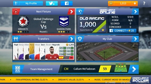 Dream League Soccer 2018 mod andropalace