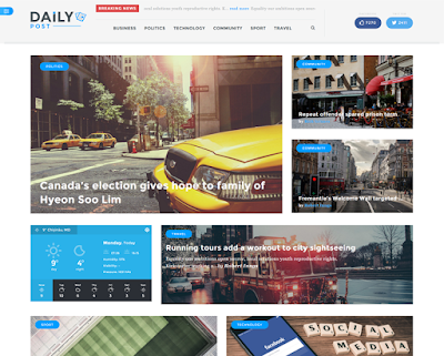 DailyPost-A News/Magazine Wordpress Theme
