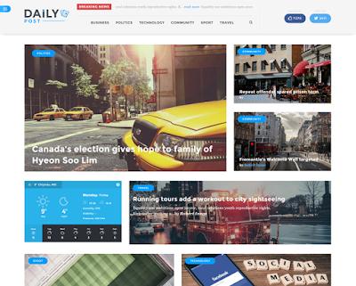 DailyPost-A News/Magazine Wordpress Theme
