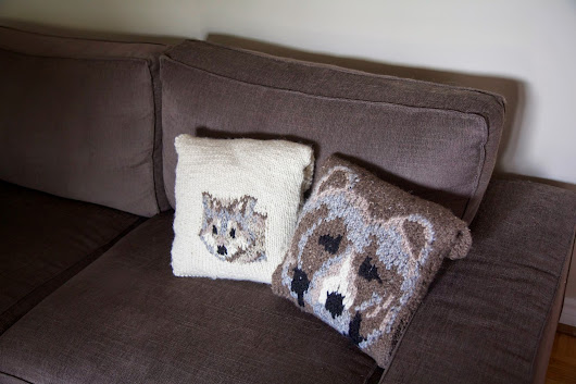 Wolf & Bear Pillows