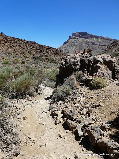 ruta de senderismo por el Teide