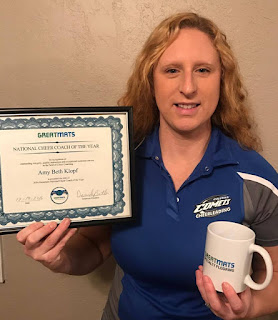 2016 Greatmats National Cheer Coach of the Year
