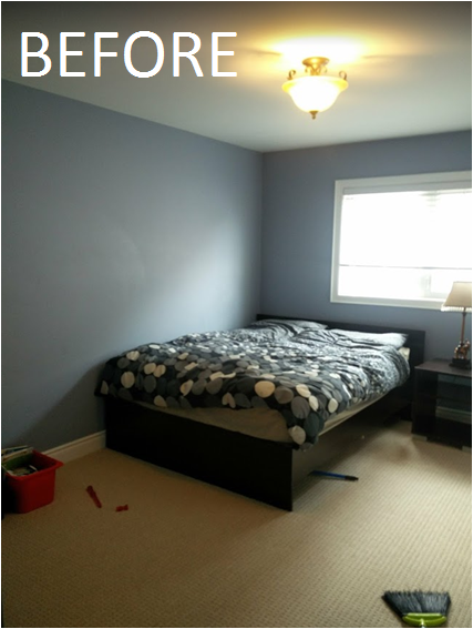 before and after of kids bedroom