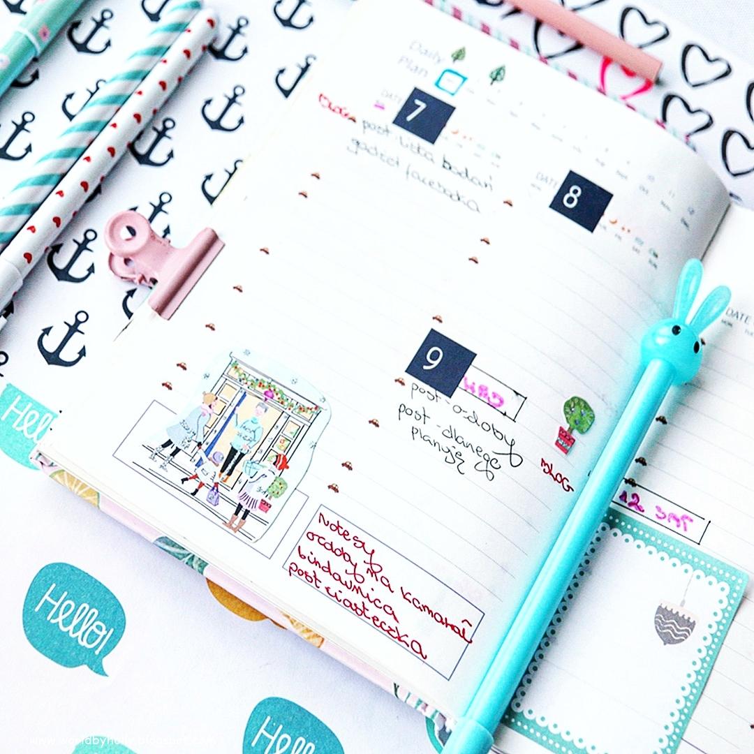 jak prowadzić planner, powody dla których warto prowadzić planner, jak dekorować planner, jakie dodatki do plannera używać, planner