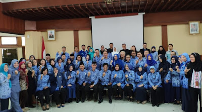 Lembaga Layanan Pendidikan Tinggi (LLDIKTI) mengadakan Seminar Nasional KORPRI