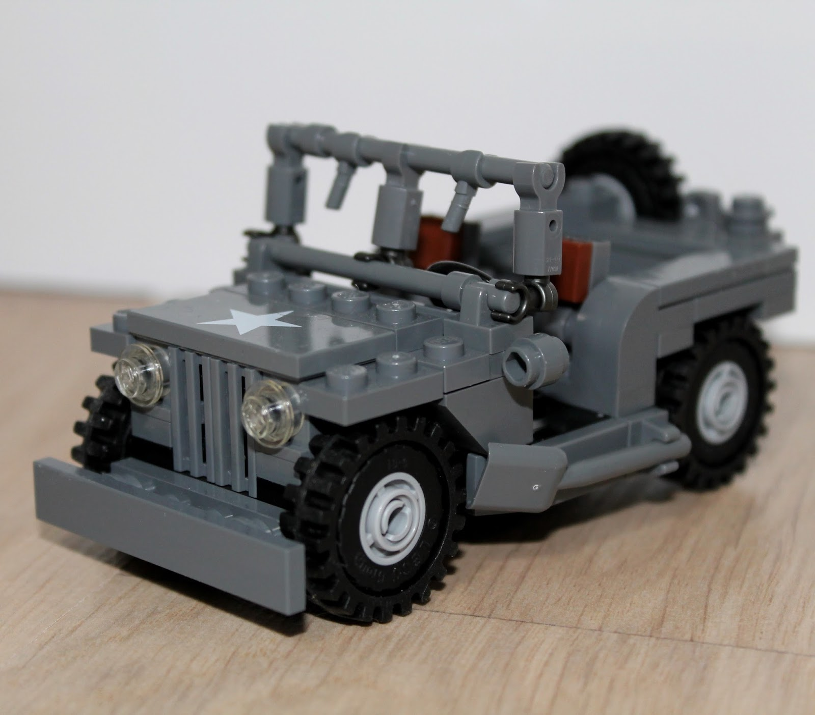 Lego Museums Brickmania Us Wwii Jeep Review