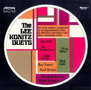 Lee Konitz, The Lee Konitz Duets