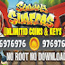 subway surfers unlimited coins and keys 2017