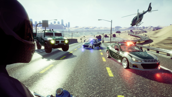 Bike Rush PC Game Screenshot 3