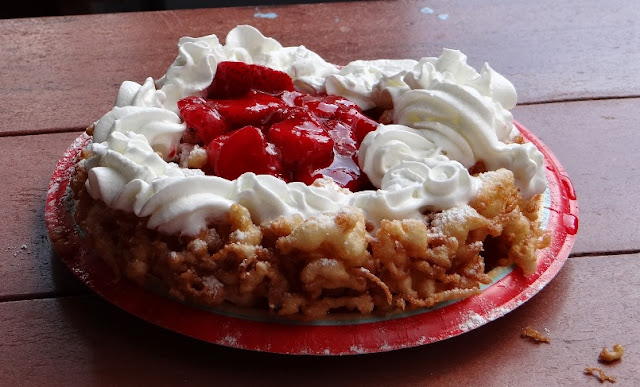Funnel Cake do Magic Kingdom