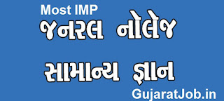 Download MOST IMP GK Questions By Anjal Academy in Gujarati PDF Free 2017