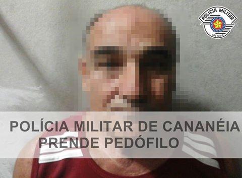 Polícia militar  prende Traficante Pedófilo  em Cananéia