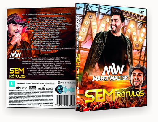 Mano Walter Sem Rotulos – ISO – CAPA DVD