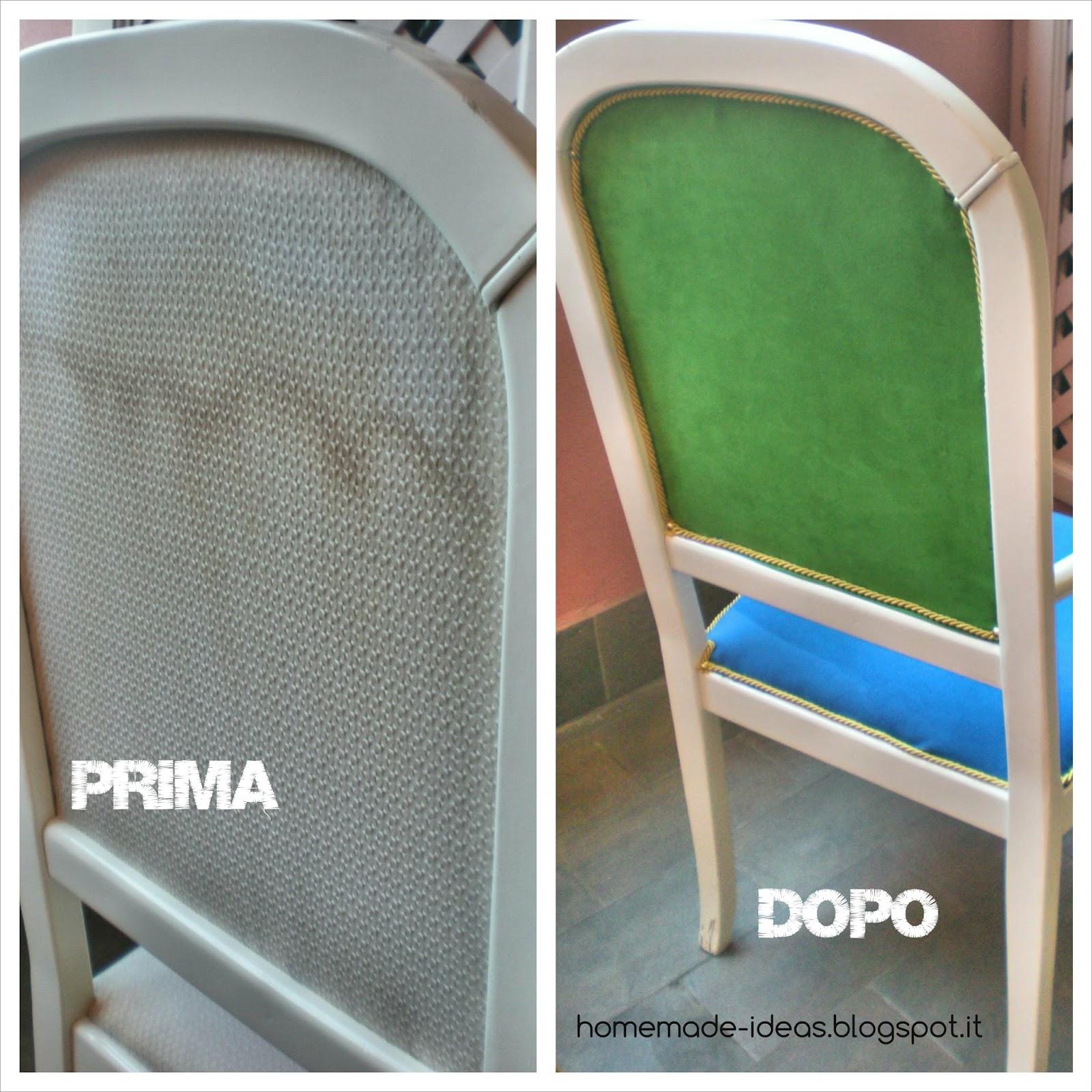 Come rivestire una sedia in pelle sanotint light tabella for Rivestire una vecchia poltrona