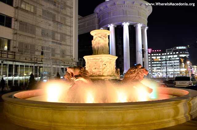 Fountain Lions - Skopje - Macedonia