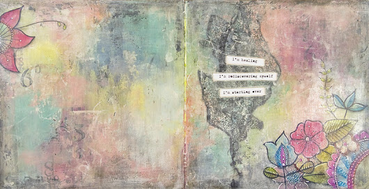 Healing - art journal