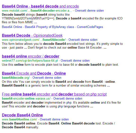 Base64 decode online — are you sure?