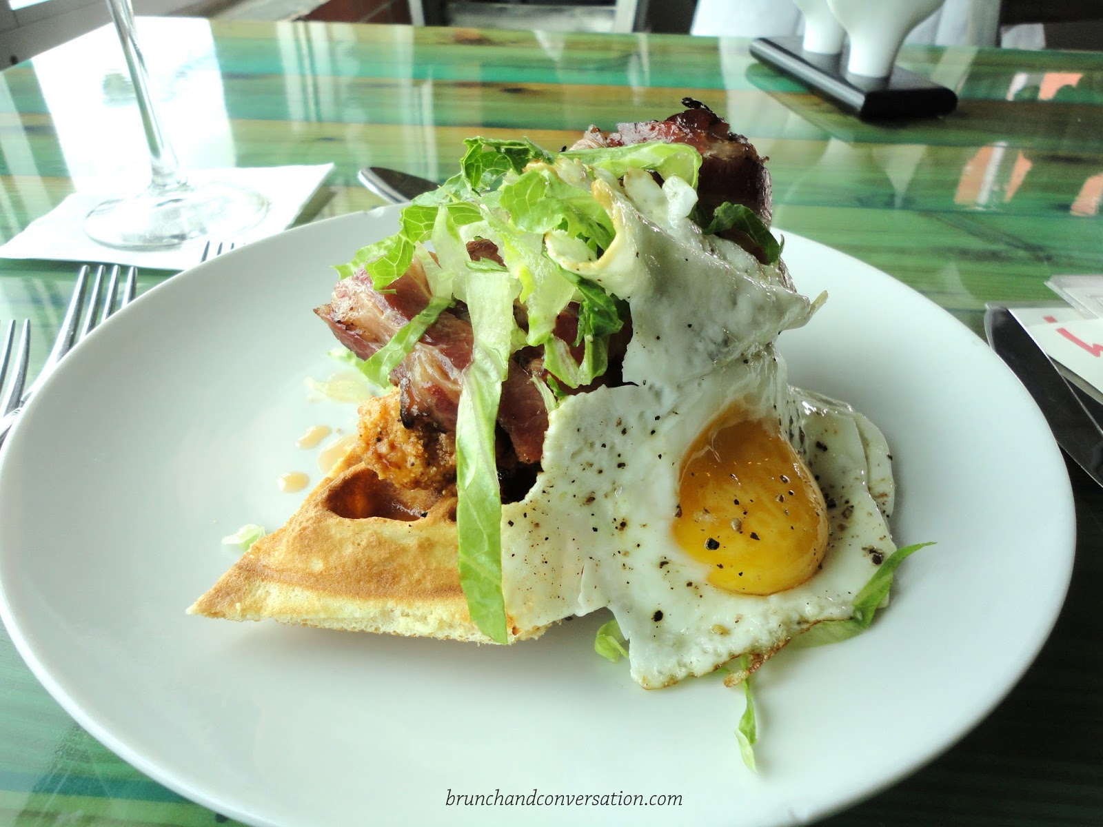 Harold's in the Heights, Houston food, Chicken and Waffles, BLT