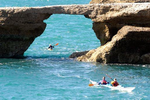 Kayak en Península Valdés