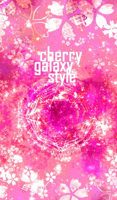cherry galaxy style