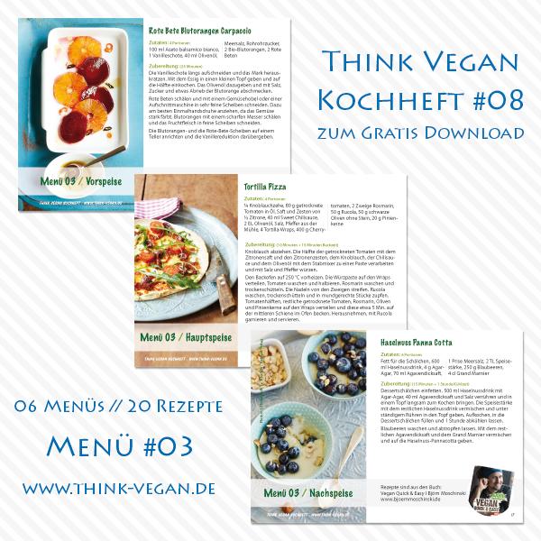 Think Vegan Kochheft #08 // Menü 02