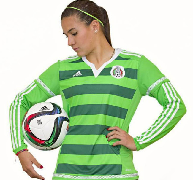 67946a2c0 Adidas Mexico 2015 Women's World Cup Kit Released - Footy Headlines