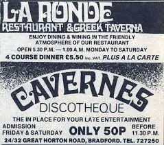 Cavernes night club Bradford