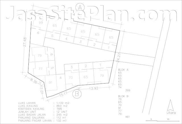 Ciri ciri Site Plan