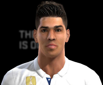 PES 2013 Marco Asensio (Real Madrid) Face by pablobyk