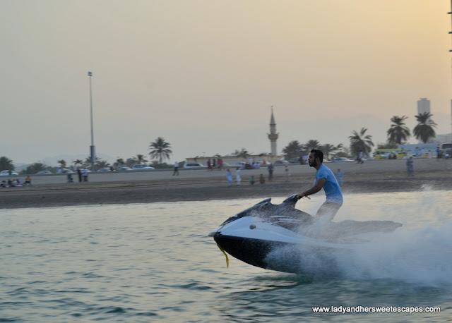 jet ski in Fujairah